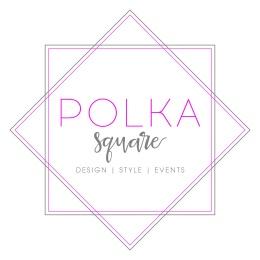 Polka Square Logo