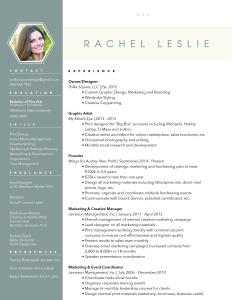 Rachel Leslie Resume